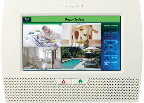 Lynx Touch 7000 all-in-one home and business control system with 4